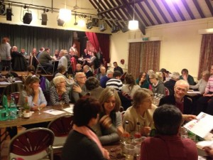 The Cheriton Players' annual quiz and curry evening - this year 1st March 2014