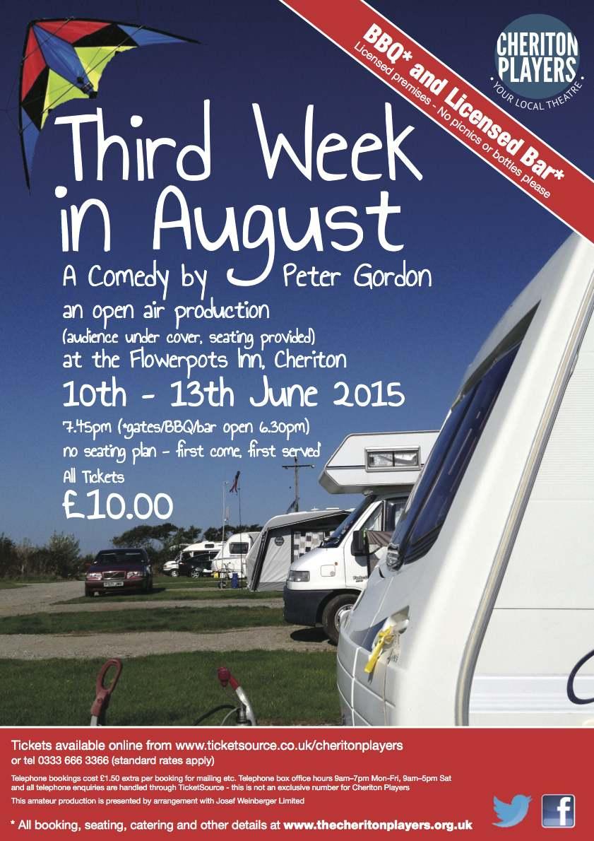 Third Week in August