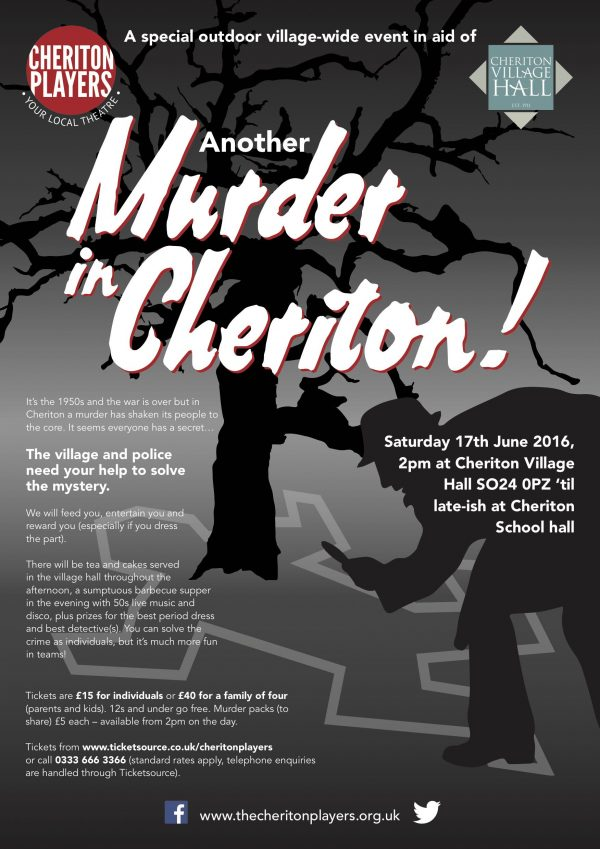 (Another) Murder in Cheriton!