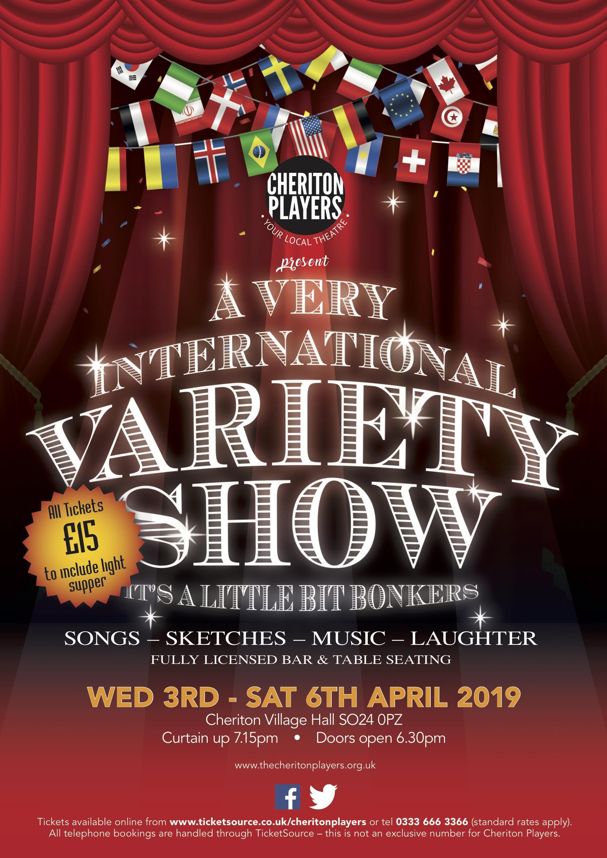 A Very International Variety Show