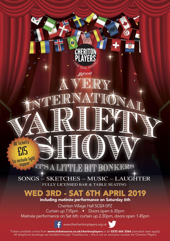 A Very International Variety Show – It's a Little Bit Bonkers!