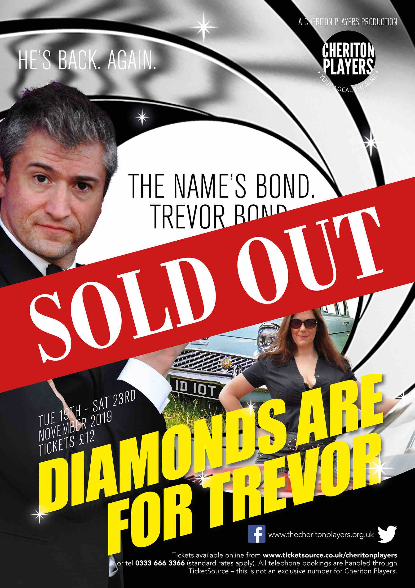 Diamonds are for Trevor